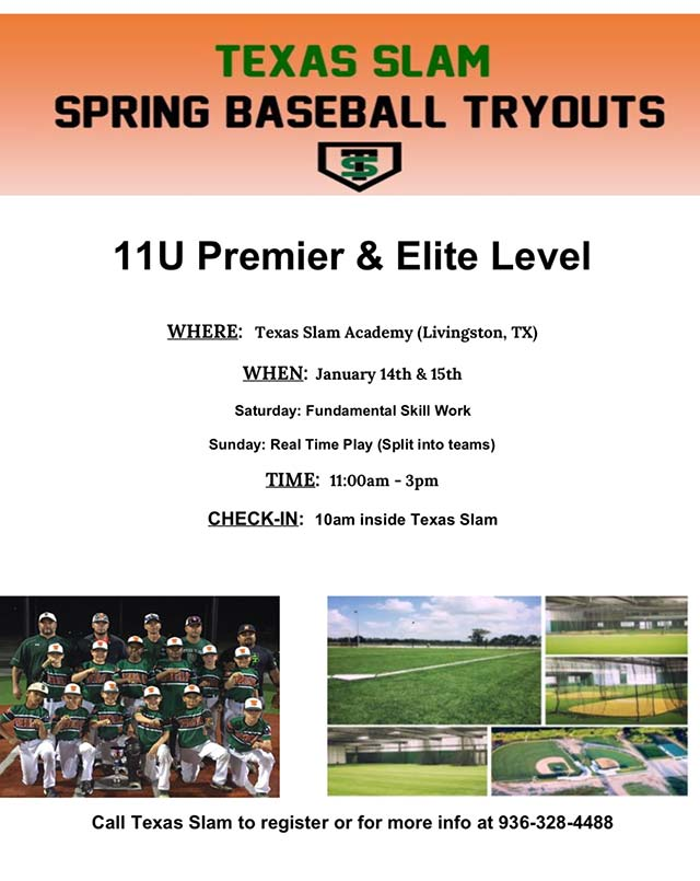 Texas Slam Tryouts